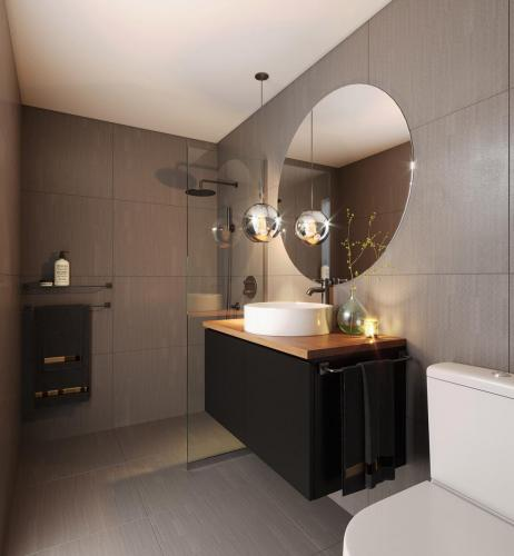 townhouse bathroom newcastle
