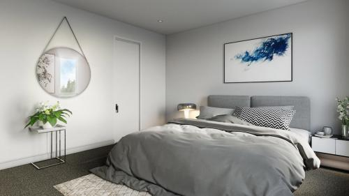 townhouse bedroom newcastle