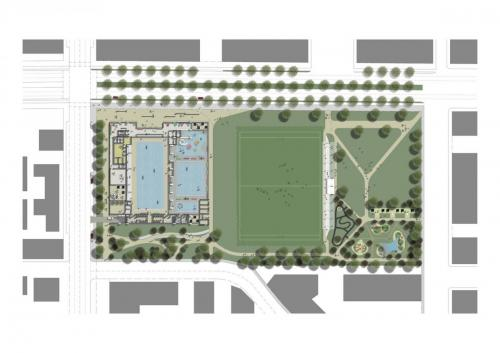 GREEN SQUARE AQUATIC CENTRE PLAN