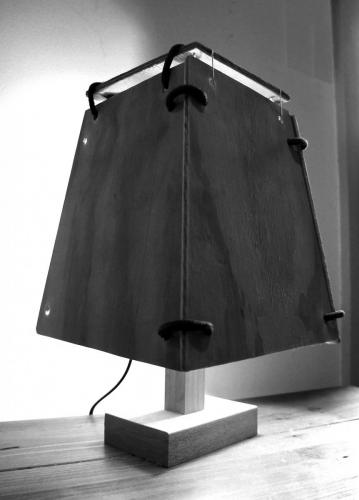 Up-cycled Lamp 01