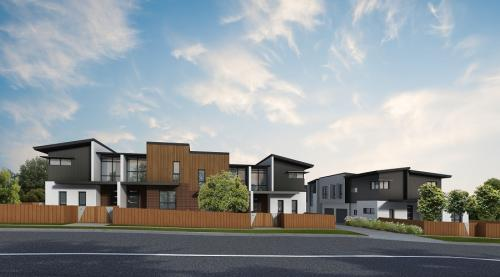 Townhouses Newcastle Low Res - Streetscape
