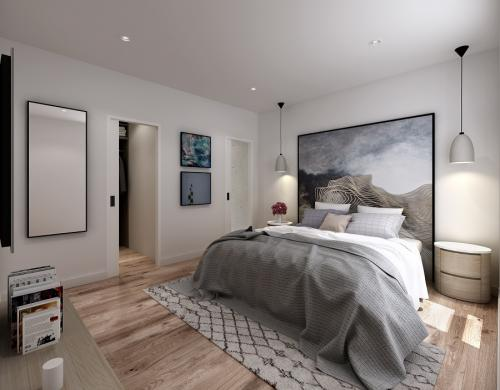 Townhouses Newcastle Low Res - bedroom