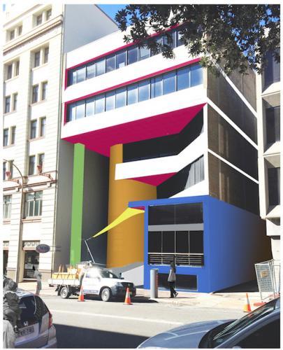 facade upgrade Watt street newcastle